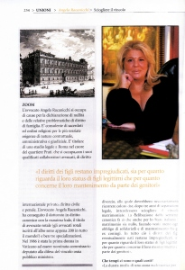 Magazine NEA - Intervista all'Avv. Angela Racanicchi