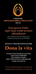 Fondazione Katia Ricciarelli - brochure